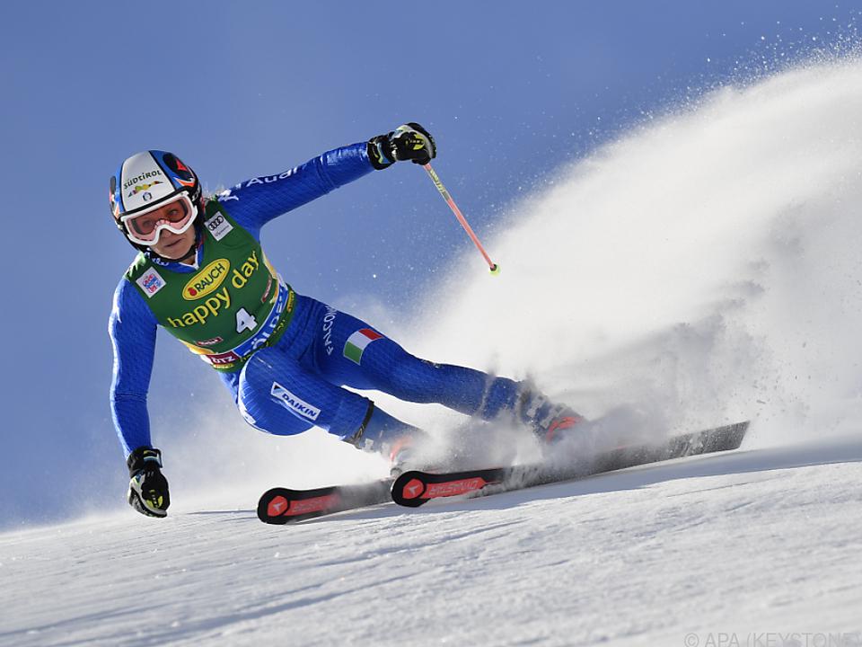 Halbzeitführung für die Südtirolerin Mölgg