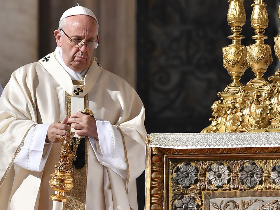 Heiligsprechungszeremonie auf dem Petersplatz
