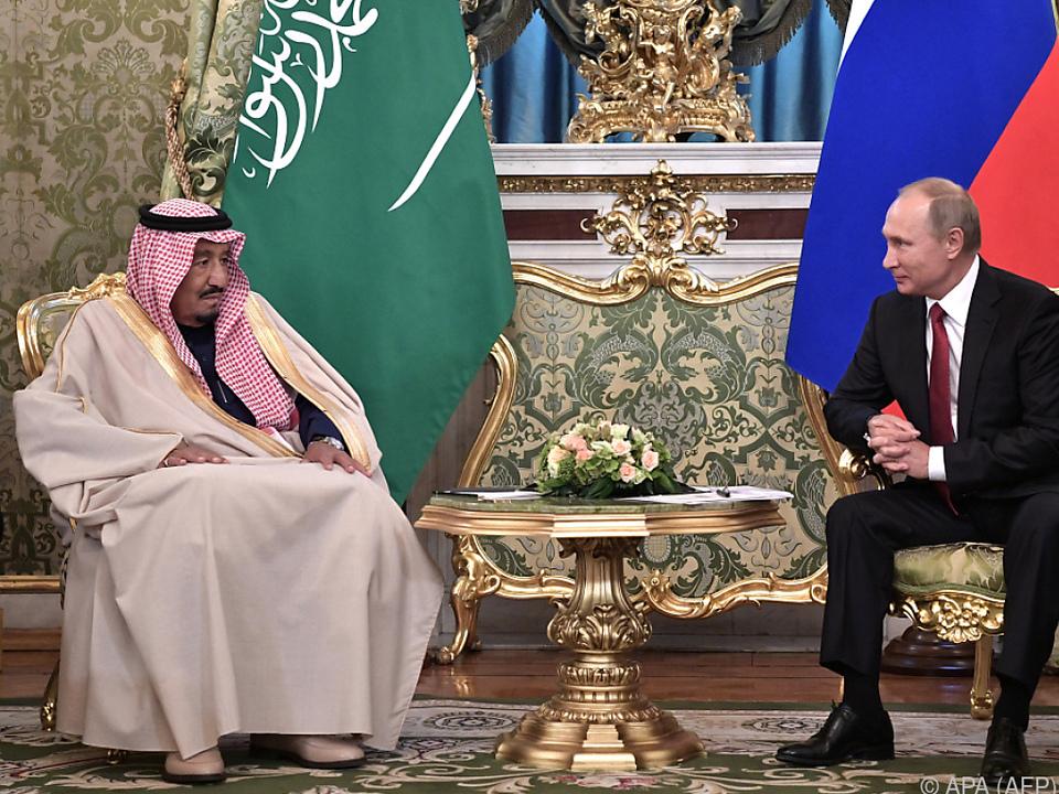 Moskau: Triumph bei Premiere des saudischen Königs