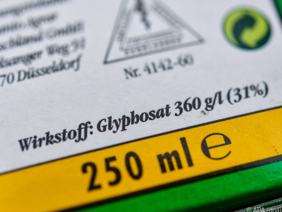 Höchst umstrittenes Herbizid Glyphosat