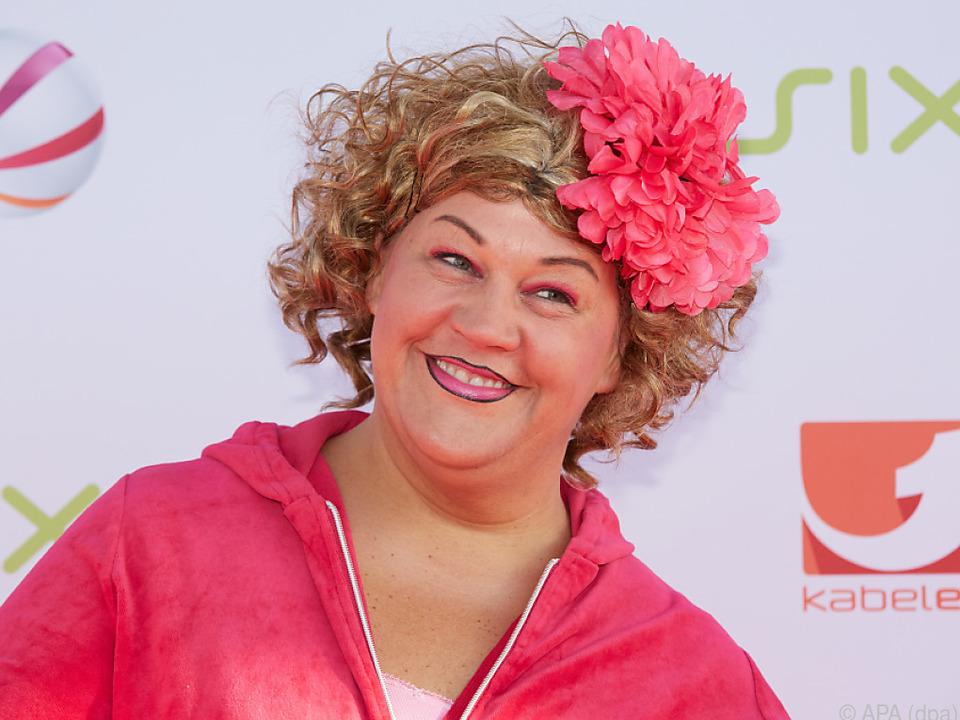 Ilka Bessin legte die Rolle der Cindy aus Marzahn 2016 ab