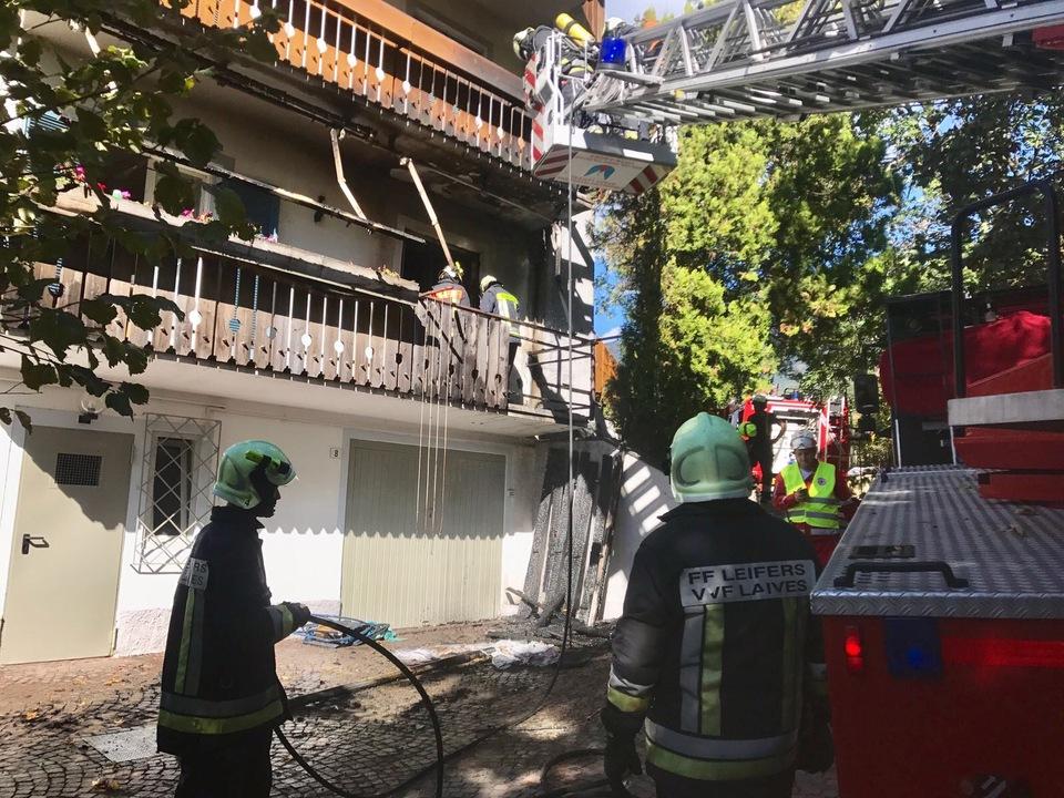 Freiwillige Feuerwehr von Leifers Wohnhaus