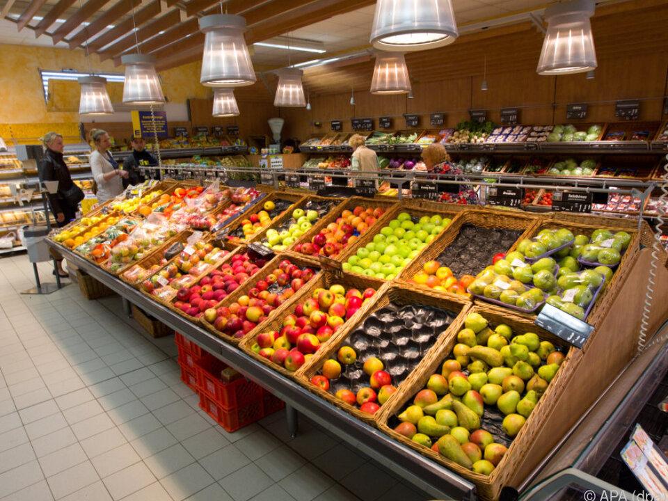 Importe und Exporten von Lebensmitteln stiegen