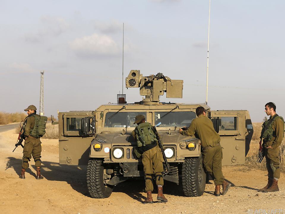 Israelische Armee sprengte Tunnelsystem im Gazastreifen