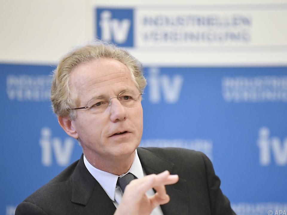 IV-Präsident Georg Kapsch