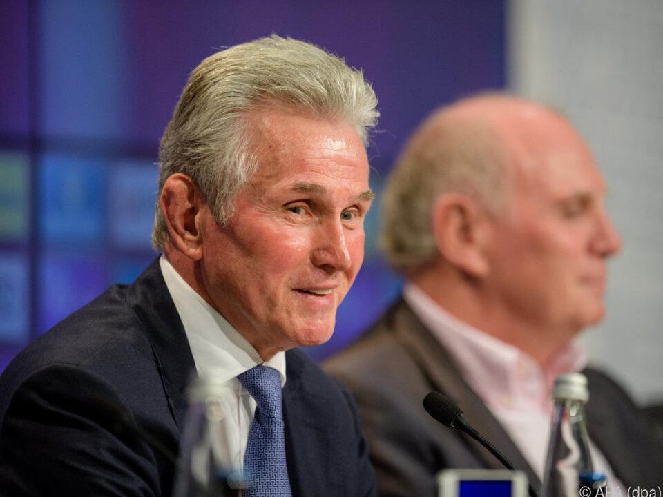 Jupp Heynckes als Bayern-Trainer offiziell präsentiert
