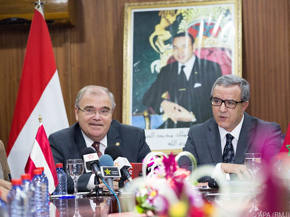 Justizminister Brandstetter zeigte sich in Marokko beeindruckt