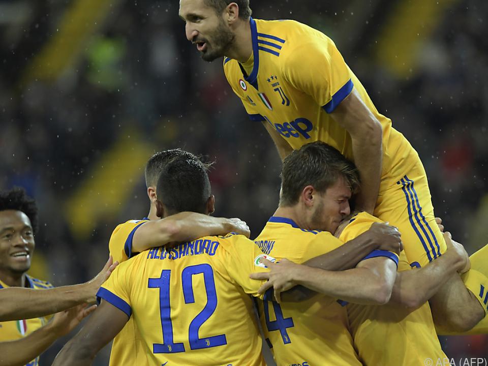 Khedira-Dreierpack verhalf Juventus zu 6:2-Sieg in Udine