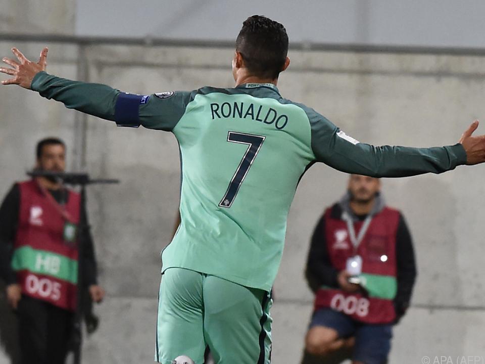 Kann es Cristiano Ronaldo für Portugal richten?