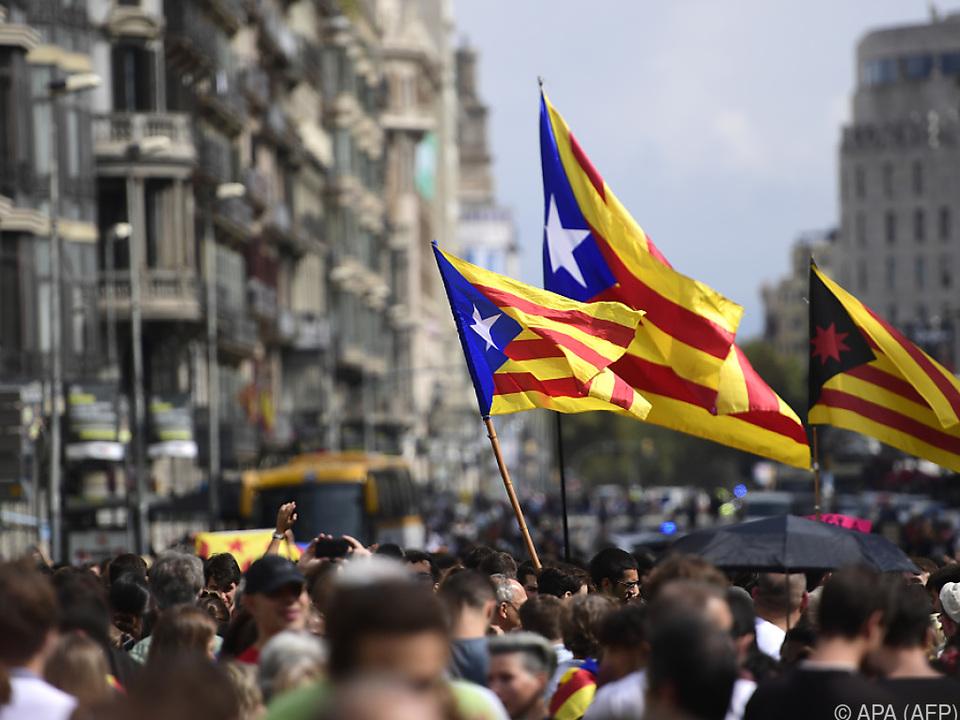 Katalanen wollen gehört werden