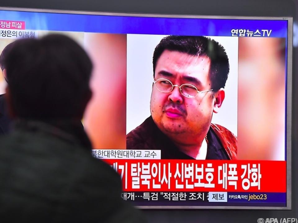 Kim Jong-nam starb im Februar