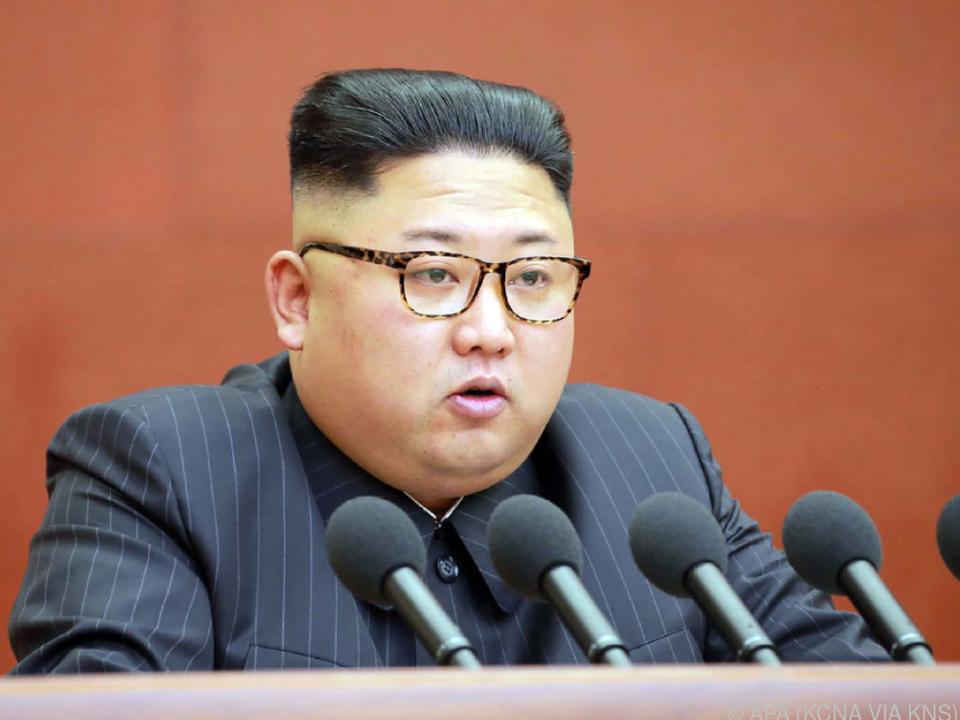Kim Jong-un soll mit Sanktionen unter Druck gesetzt werden