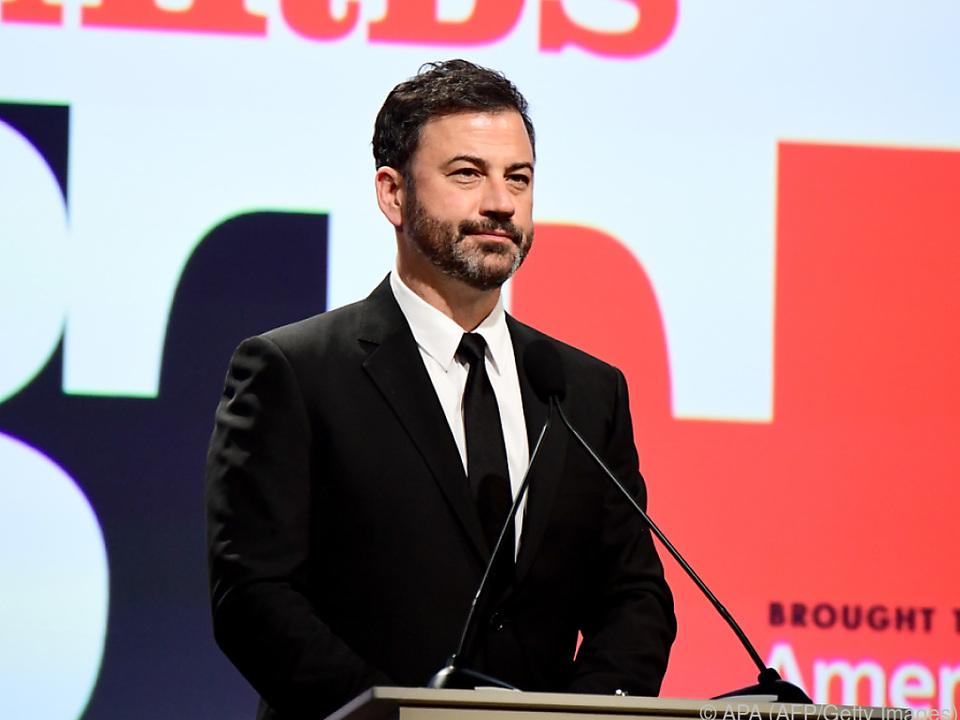 Kimmel verschlägt es angesichts des Terrors die Sprache