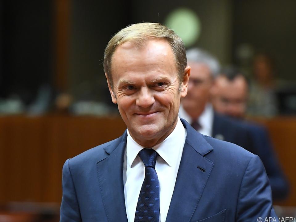 Klare Ansage von EU-Ratspräsident Donald Tusk