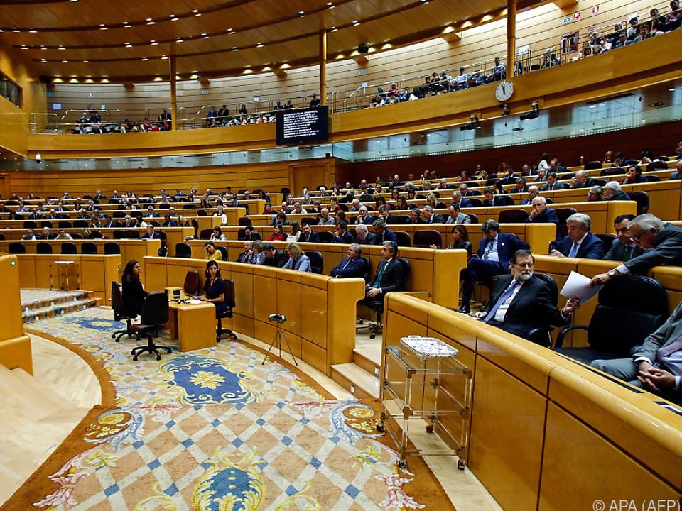 Klare Mehrheit im spanischen Senat für Premier Rajoy