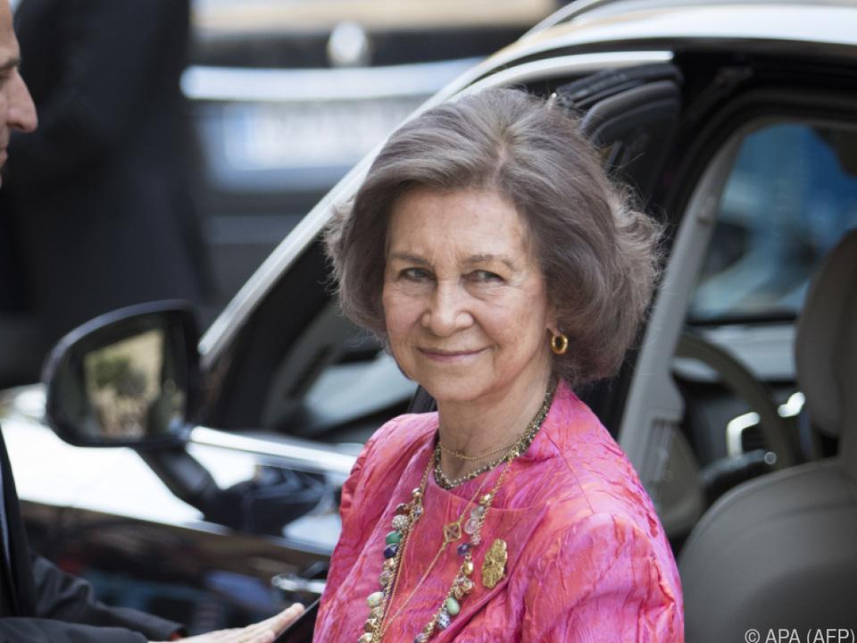 Königin Sofia von Spanien war unter den Gästen