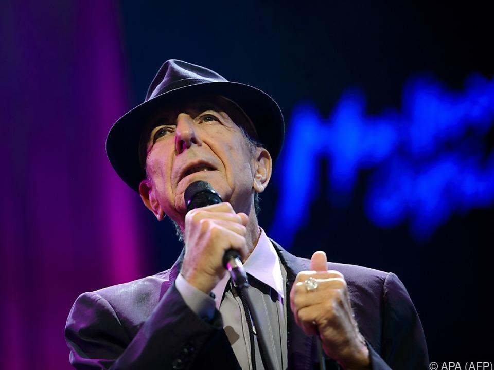 Leonard Cohen: Letzte Gedichte erscheinen im Band \