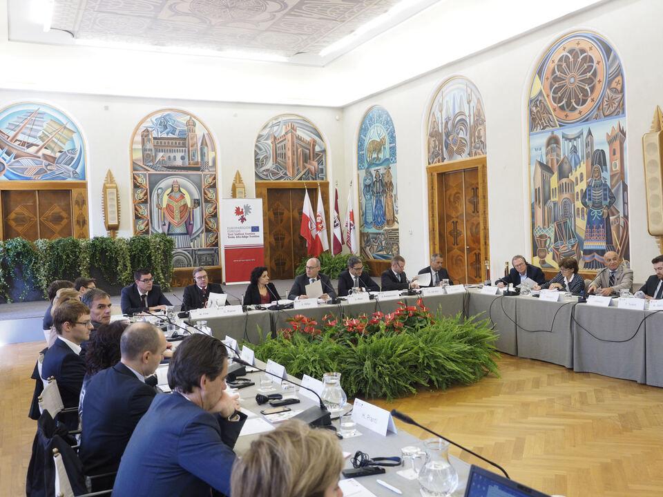 Euregio Vorsitz Südtirol