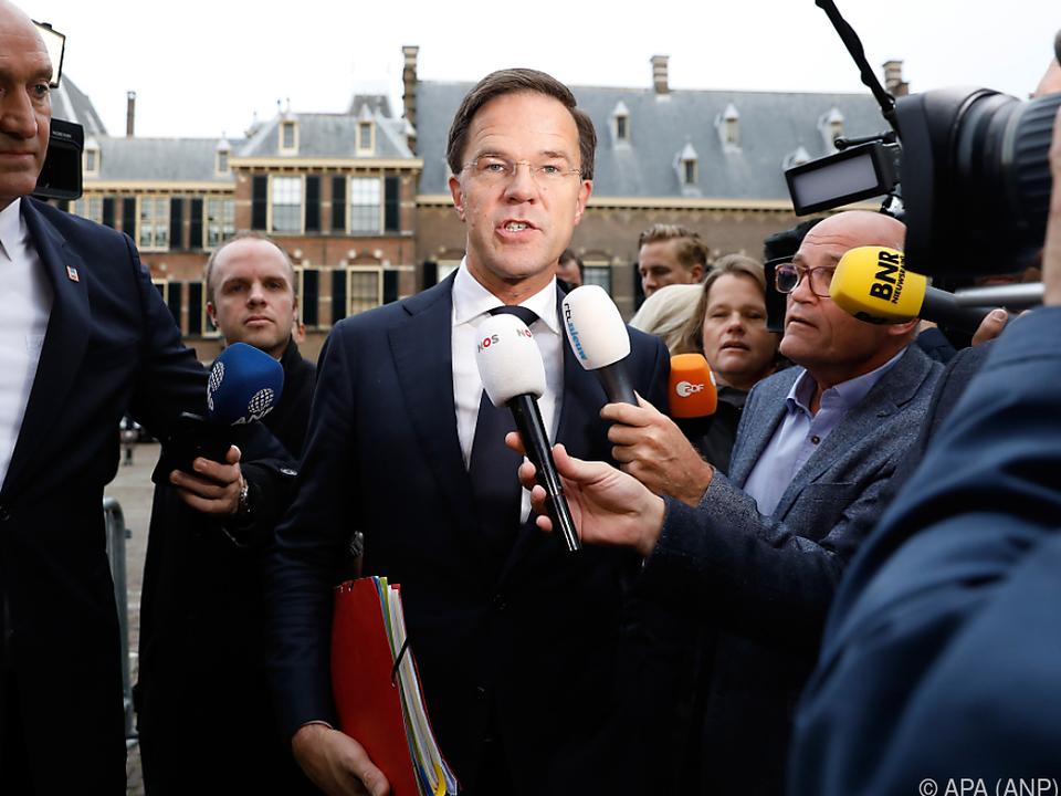Mark Rutte erklärte die Koalitionsverhandlungen für abgeschlossen