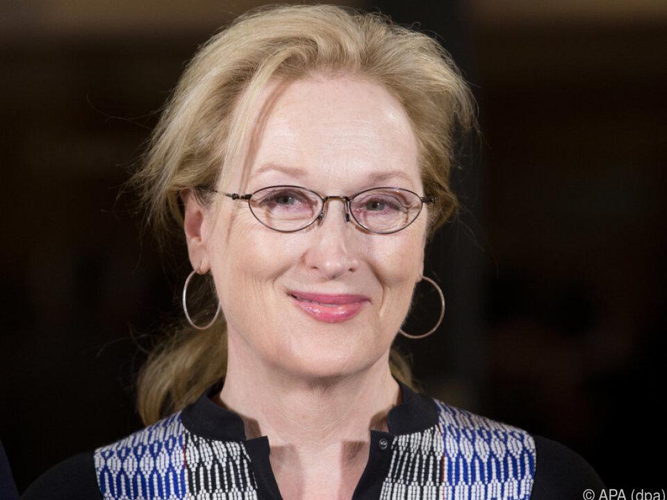 Meryl Streep reagierte mit Entsetzen auf die \
