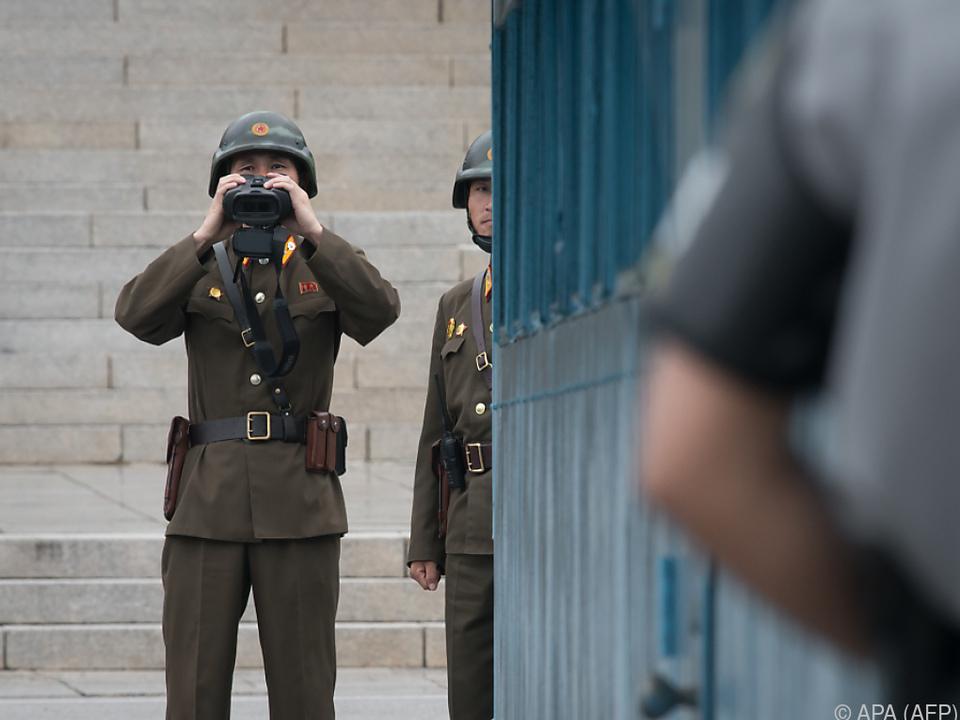 Nordkorea sieht \
