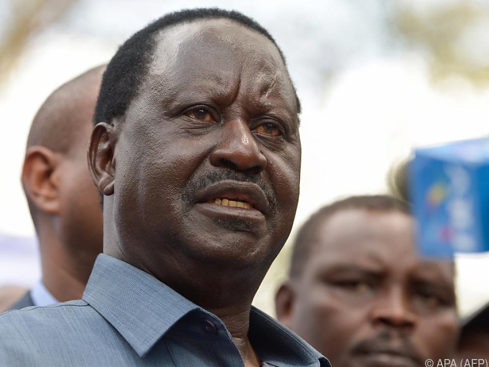 Odingas Anfechtung hatte Neuwahlen nötig gemacht