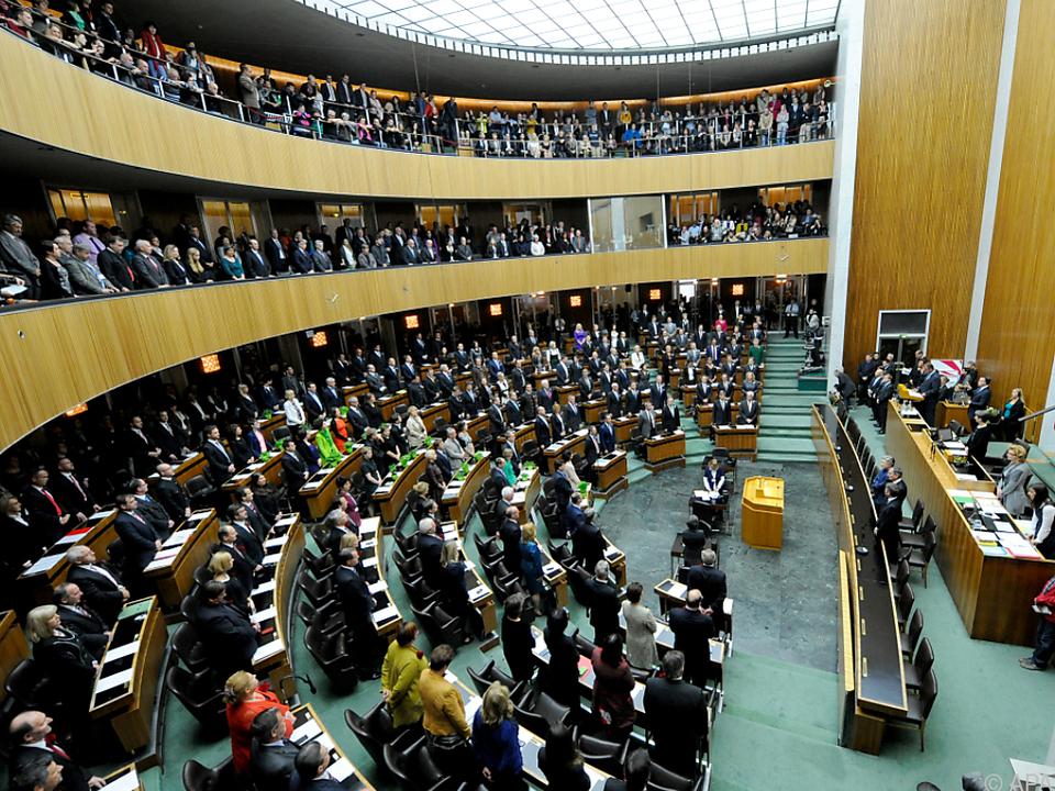 Österreich liegt beim Frauenanteil im Parlament über dem Durchschnitt
