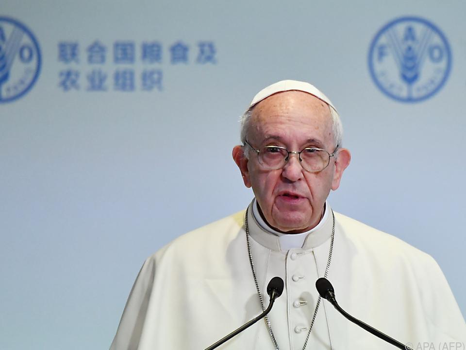 Päpstlicher Appell am Welt-Ernährungstag