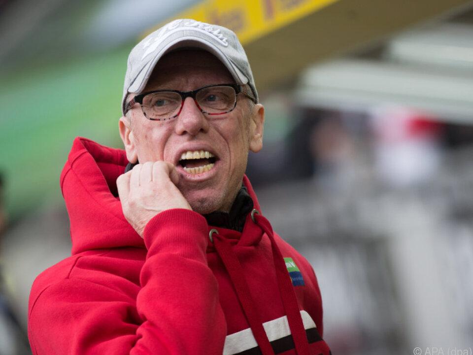 Peter Stöger erlebt in Köln gerade seine erste Krise