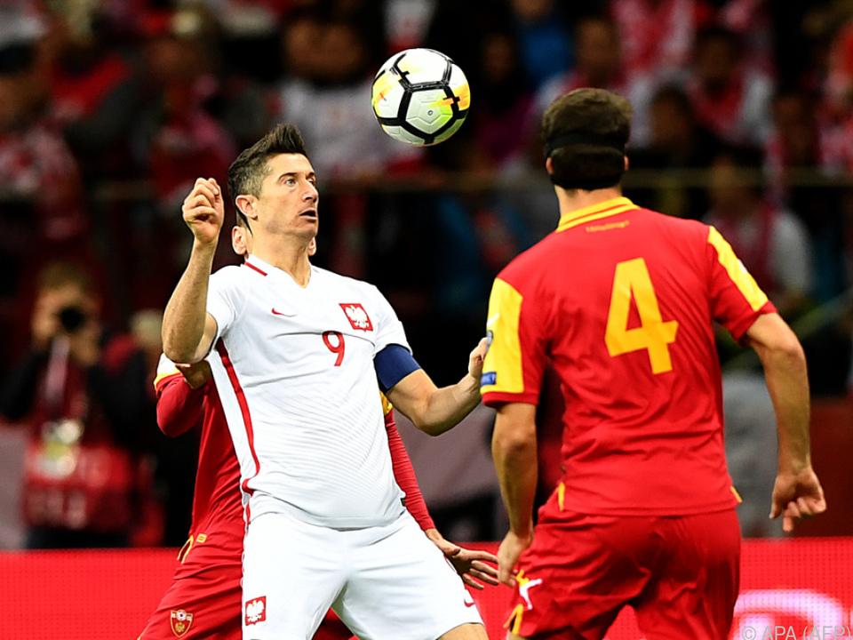 Polen-Bomber Lewandowski erzielte seinen 16. Quali-Treffer