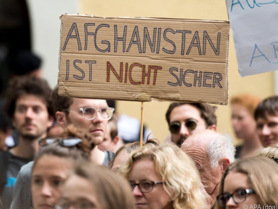 Proteste gegen Abschiebungen in Deutschland