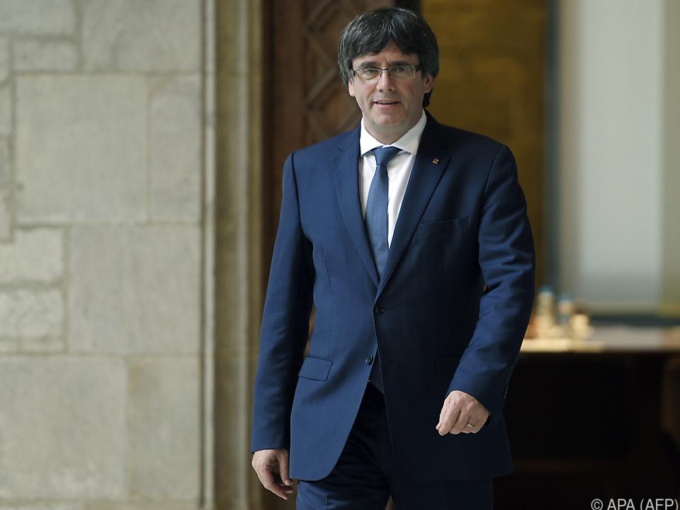 Puigdemont sieht Spanien am Zug