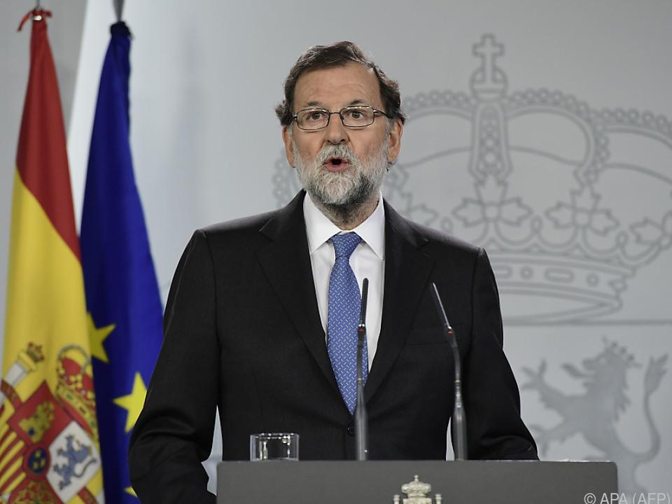 Rajoy greift durch