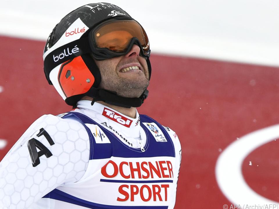 Riesentorlauf-Spezialist Philipp Schörghofer schmerzt das Knie