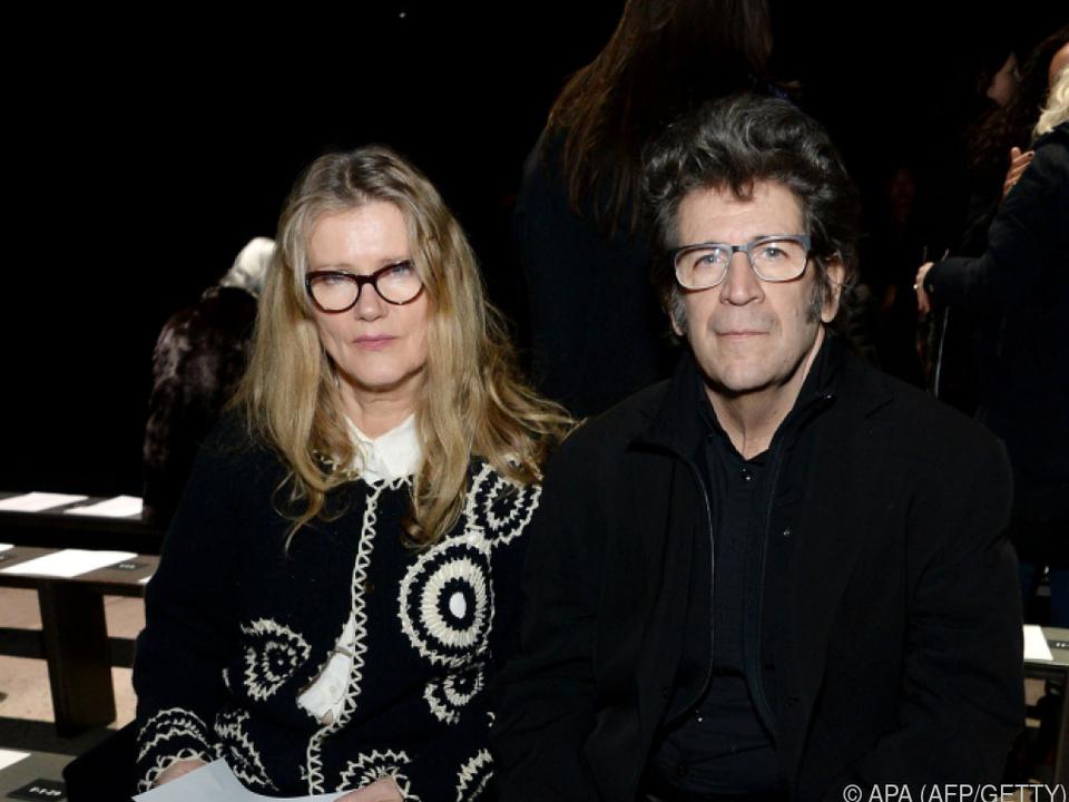 Robert Longo hier mit seiner Frau Barbara Sukowa