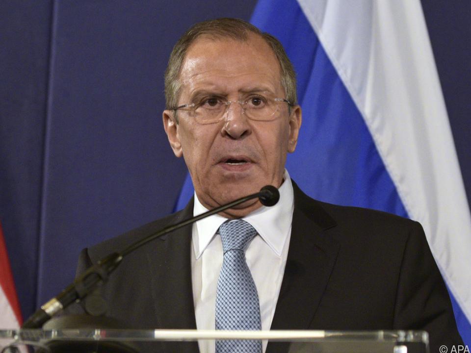 Russlands Außenminister Lawrow kritisiert US-Aktionen