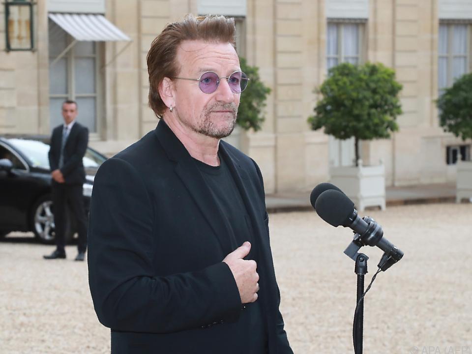 Sänger Bono engagiert sich sozial