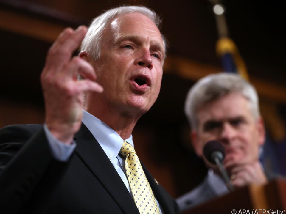 Senator Ron Johnson kann sich mehr Verbote vorstellen