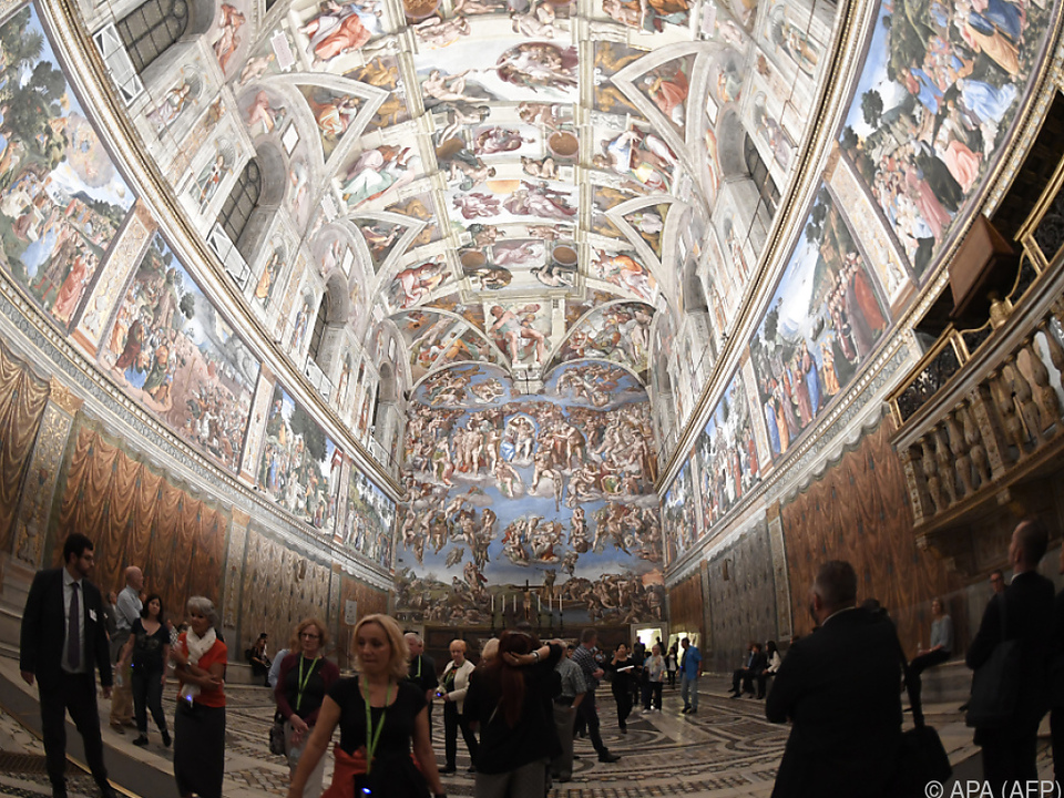 So leer ist es in der Sixtinischen Kapelle selten vatikan