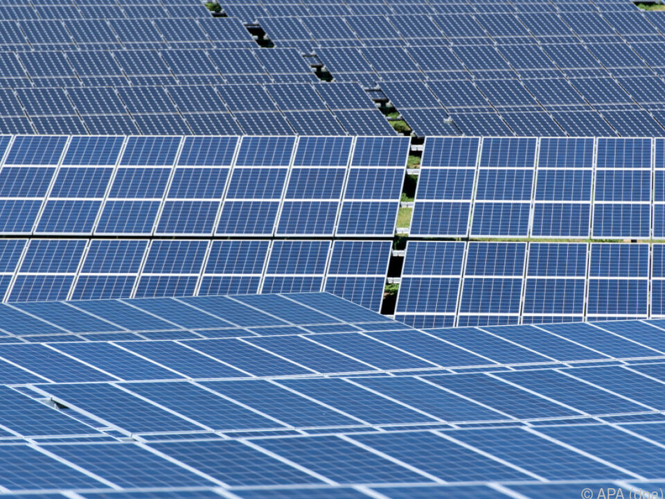 Solarenergie boomt vor allem in China