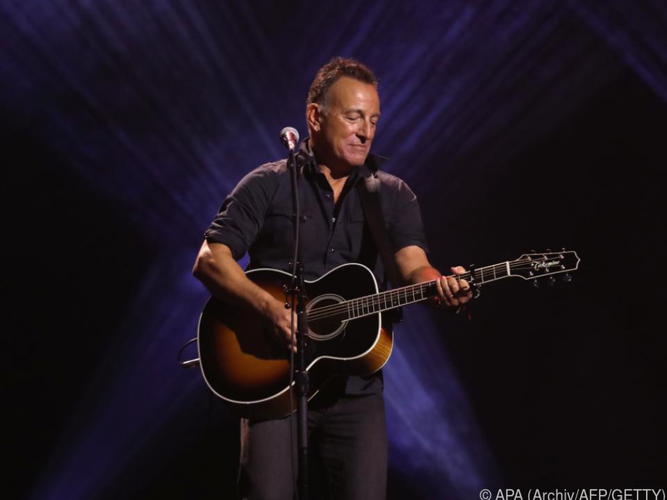Springsteen hört auch Kanye West und Taylor Swift