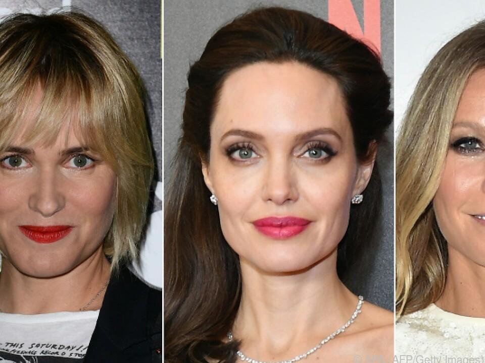 Stars wie Argento, Godreche, Jolie und Paltrow klagen an