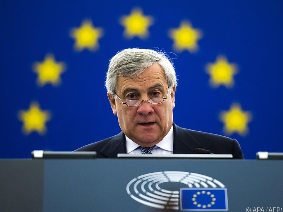 Tajani kündigte Beratungen des Präsidiums an