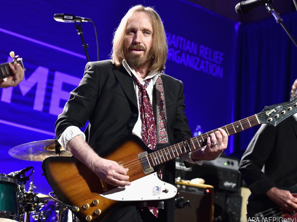 Tom Petty bei einem Auftritt im Jahr 2016