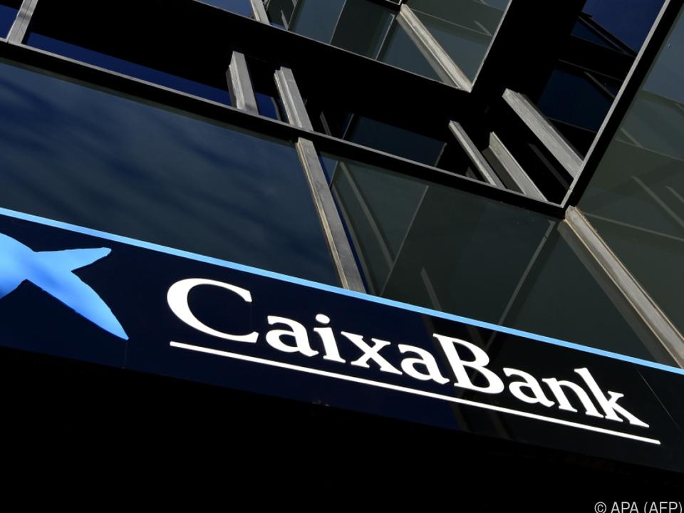 Unternehmen wie die Caixabank sind betroffen