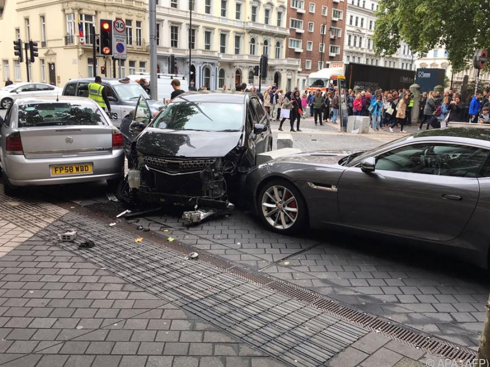 Verkehrsunfall in Londoner Touristenviertel sorgte für Aufsehen
