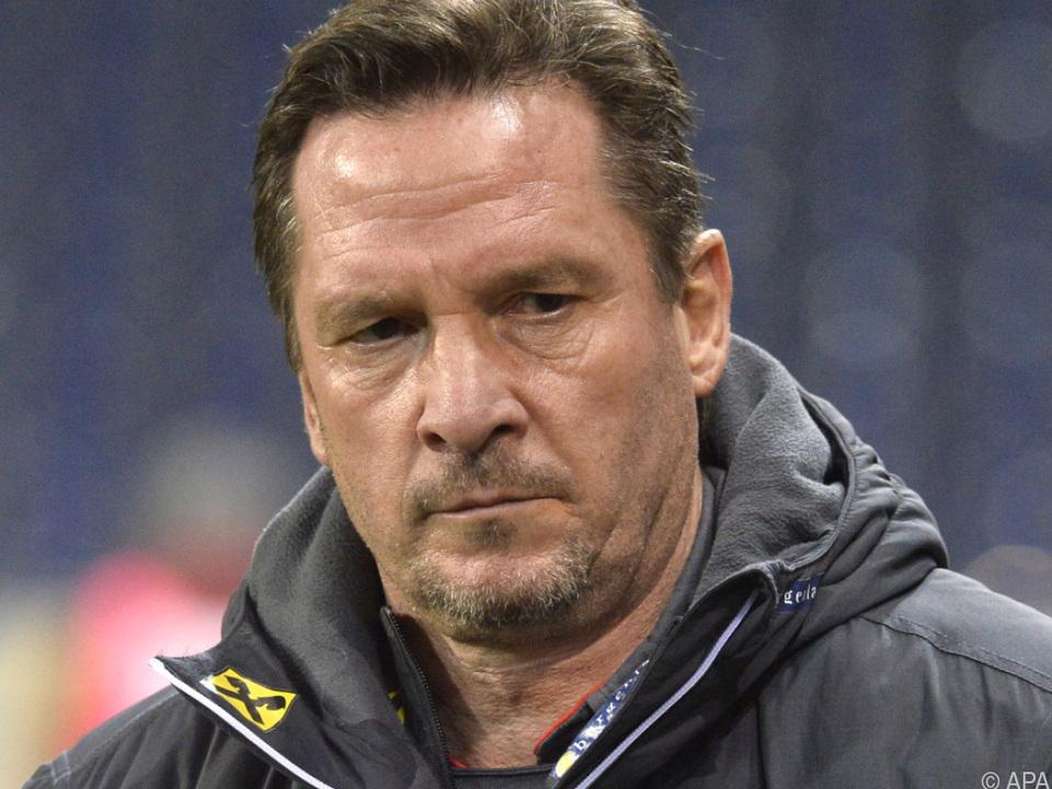 Werner Gregoritsch setzt auf junge Spieler