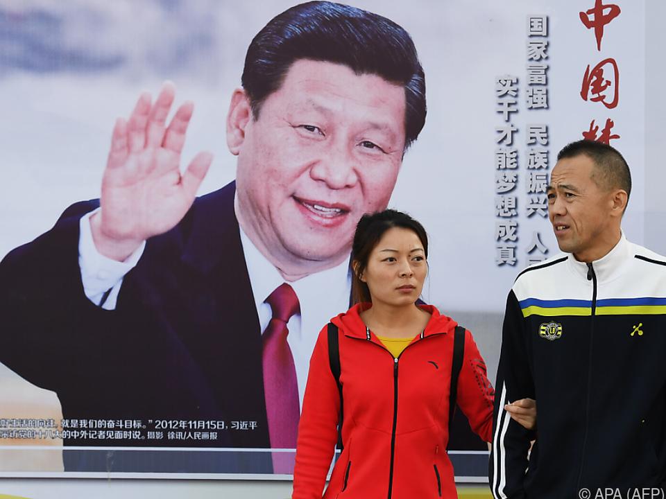 Xi Jinping ist allgegenwärtig