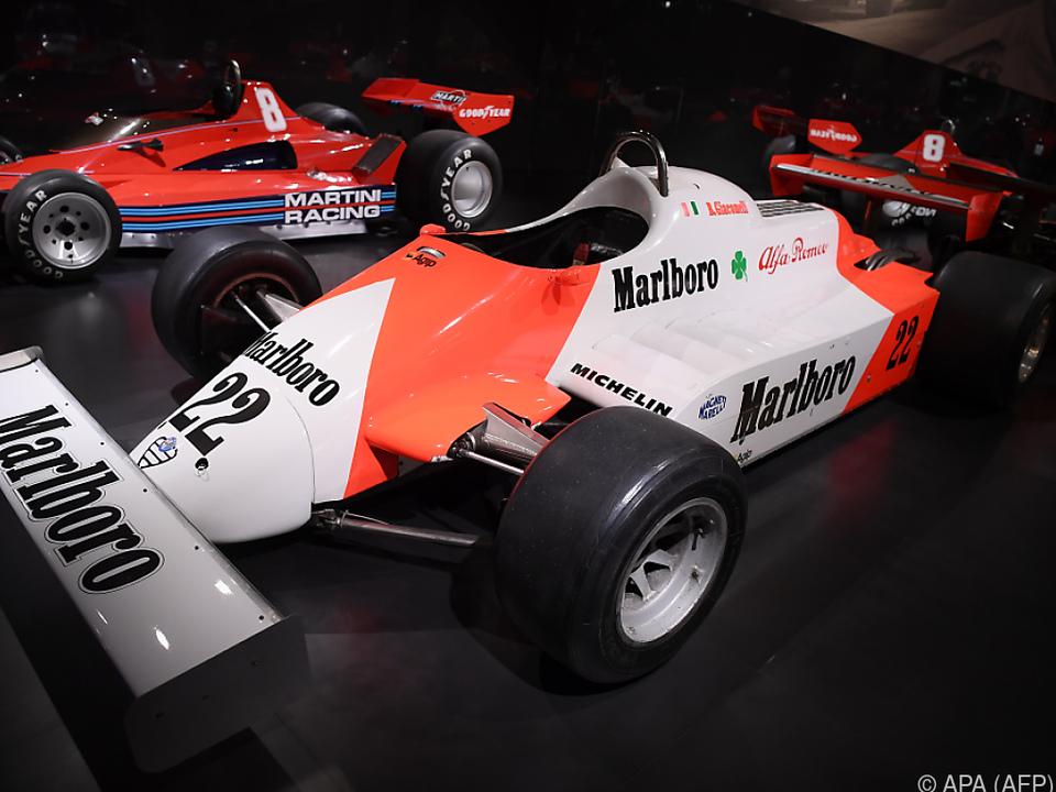1982er-Formel-1-Modell von Alfa Romeo