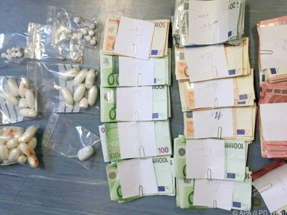 58 Kilo Heroin und Kokain wurden nach Österreich geschmuggelt